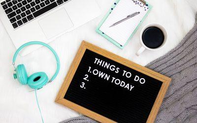 10 cosas que deberías hacer para planificar mejor el año
