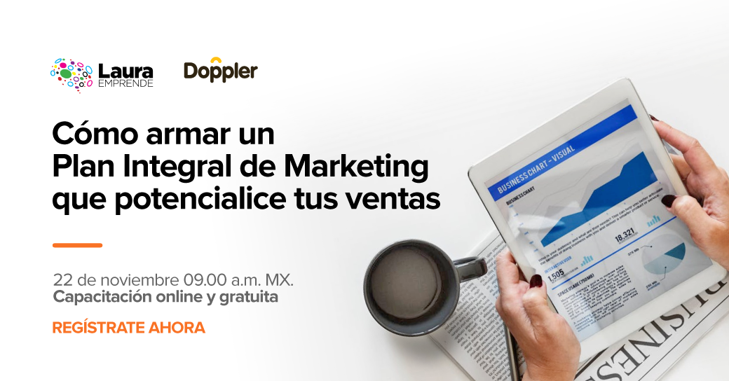 Webinar gratuito: Plan de Marketing Digital